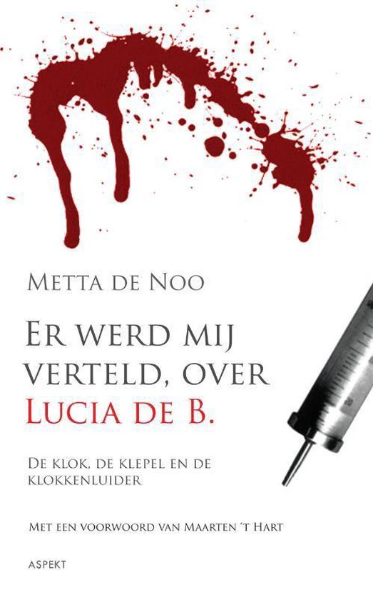 Cover van het boek 'Er werd mij verteld, over Lucia de B.' van M. de Noo