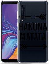 Galaxy A9 2018 Hoesje Hakuna Matata black