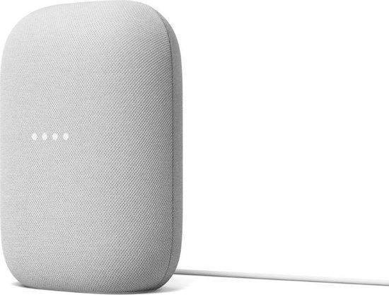 Google Nest Audio - Chalk - 2-pack