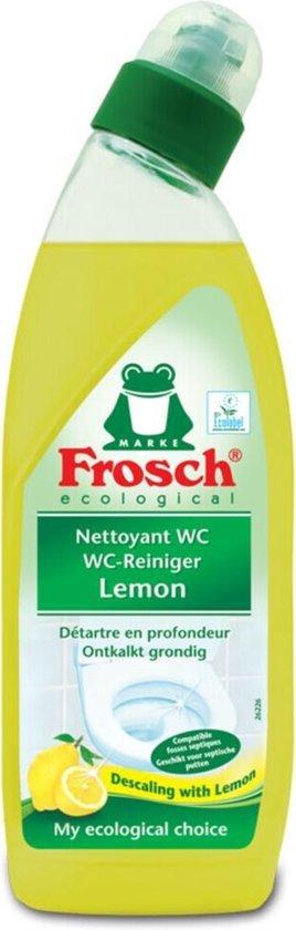 10x Frosch WC Reiniger Lemon 750 ml