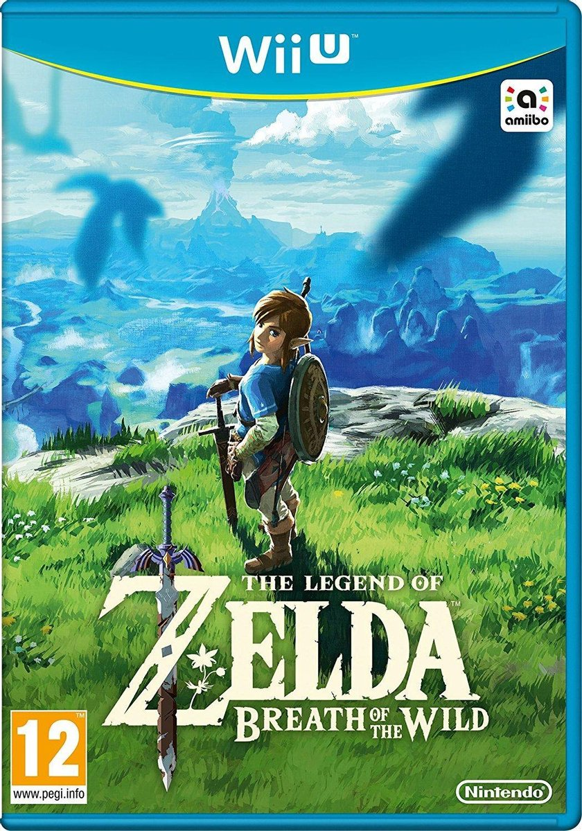 The Legend Of Zelda: Breath of the Wild - Wii U - Nintendo