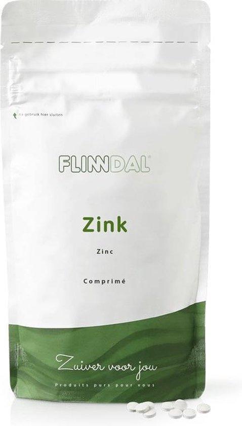 Flinndal Zink 90 tabletten - Voor het behoud van een goede weerstand