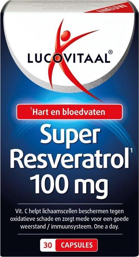 Lucovitaal Resveratrol Super 100mg