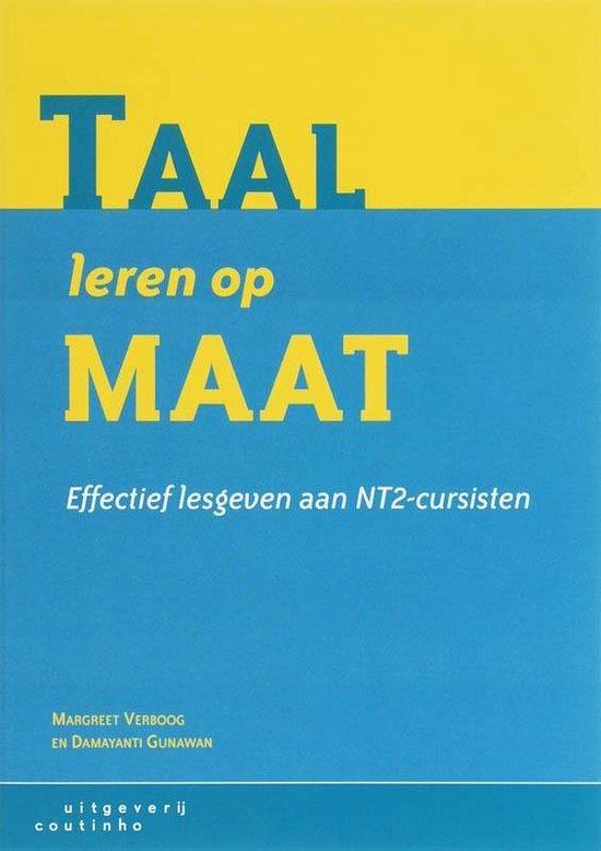 Boek cover Taal leren op maat van M. Verboog