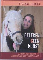 Boek cover Beleren, geen kunst van Lisanne Thomas (Hardcover)