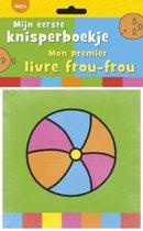 Boek cover Mijn eerste knisperboekje / mon premier livre frou-frou van Anita Engelen