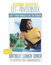 Boek cover Gezonde lifestyle eet-adviesboek van Gert Schuitemaker