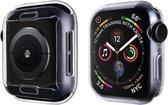 Slim soft case - transparant - Geschikt voor Apple Watch