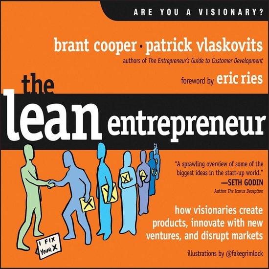 Boek cover The Lean Entrepreneur van Brant Cooper (Onbekend)