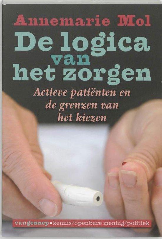 Cover van het boek 'De logica van het zorgen' van A. Mol