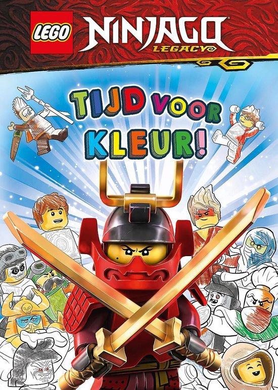 Boek cover LEGO NINJAGO - Tijd voor kleur! van LEGO® Books
