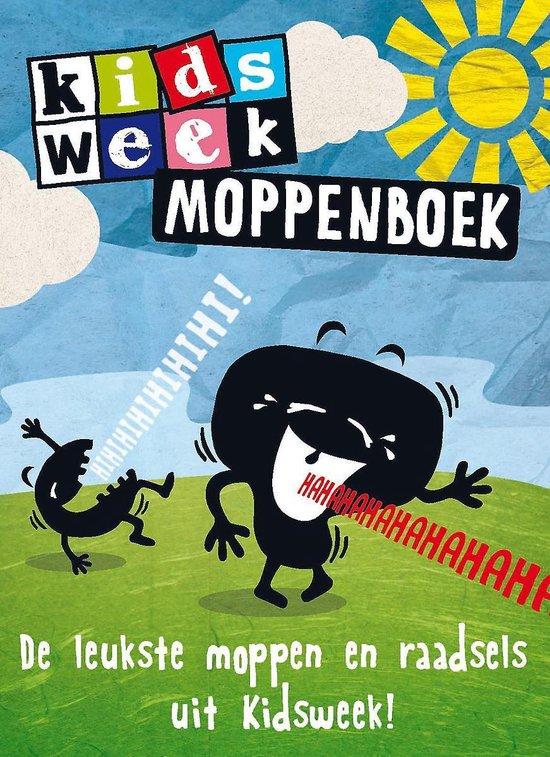 Boek cover Kidsweek  -   Kidsweek moppenboek van Van Holkema & Warendorf (Hardcover)