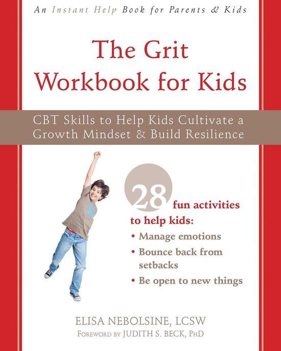 Omslag van The Grit Workbook for Kids