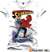 SUPERMAN - T-Shirt Daily Planet White (XXL)