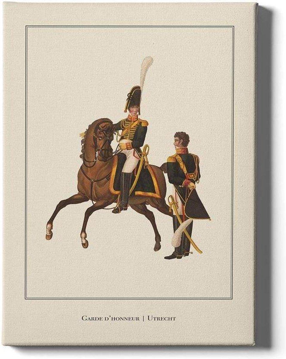 Garde d'honneur Utrecht - Walljar - Wanddecoratie - Schilderij - Canvas