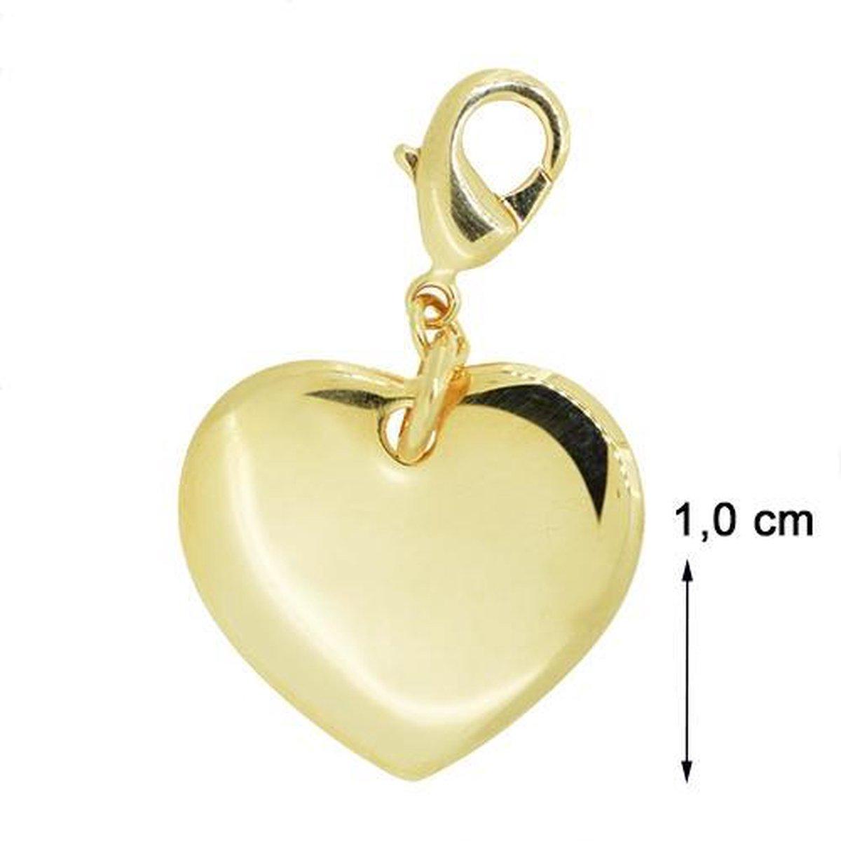 Blinx Jewels Vergulden Hanger Hartje