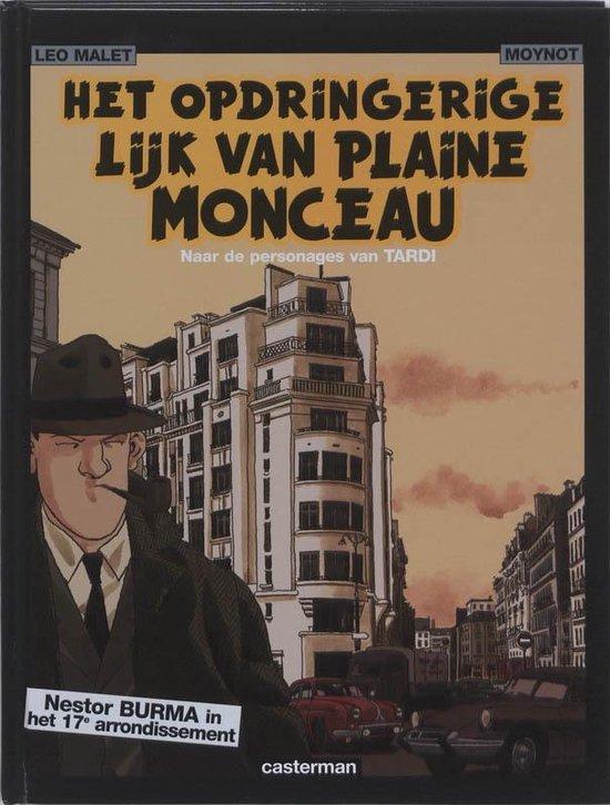 Boek cover Nestor burma hc04. het opdringerige lijk van plaine-monceau van Jacques Tardi (Hardcover)