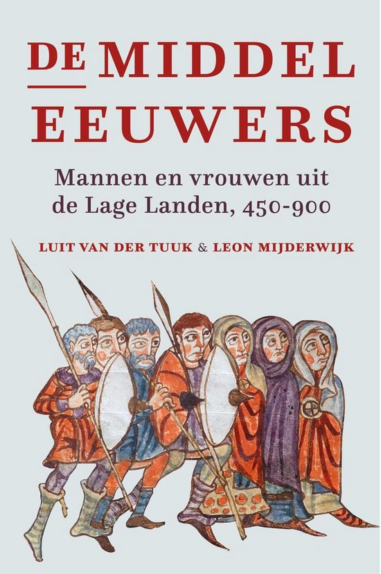 Boek cover De middeleeuwers van Luit van der Tuuk (Onbekend)