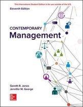 Boek cover ISE Contemporary Management van Gareth Jones
