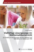 Vielfaltige Losungswege Im Mathematikunterricht