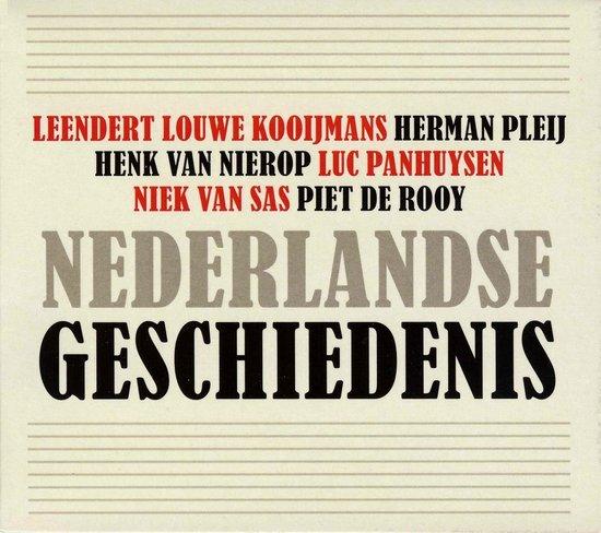 Boek cover Nederlandse geschiedenis van Leendert Louwe Kooijmans (Onbekend)