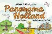 Panorama Holland. Holland in kleurkaarten