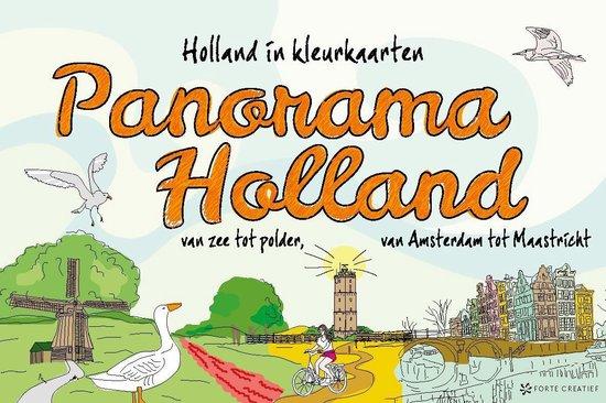 Panorama Holland. Holland in kleurkaarten - none pdf epub