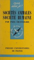 Sociétés animales, société humaine