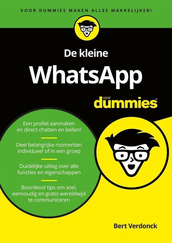 Voor Dummies - De kleine WhatsApp voor Dummies - Bert Verdonck |