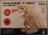 3D Dino T-Rex Houten Puzzel