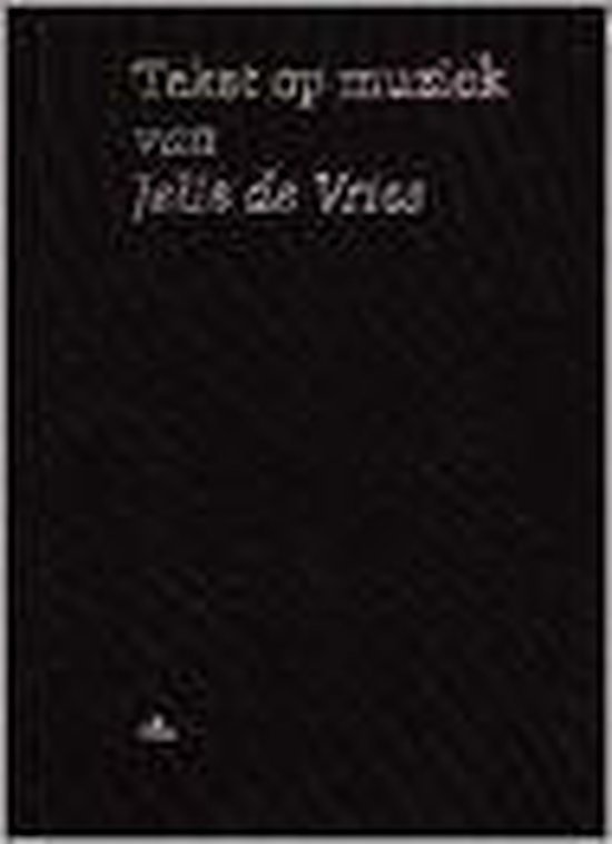 TEKST EN MUZIEK SET 2 DLN + 4 CD'S - Sj. de Vries |