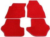 PK Automotive Complete Naaldvilt Automatten Rood Fiat Punto 2003-2010