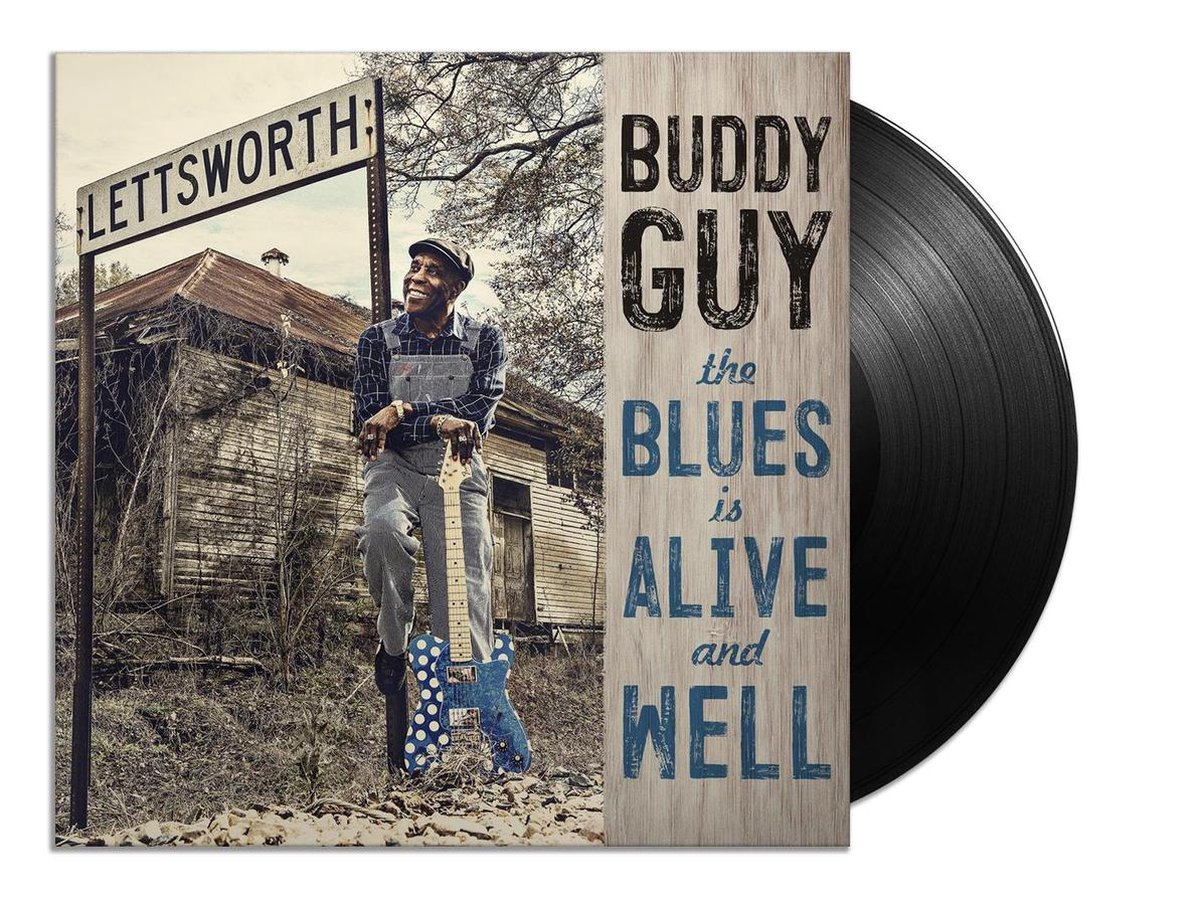 The Blues Is Alive And Well (LP) - Buddy Guy