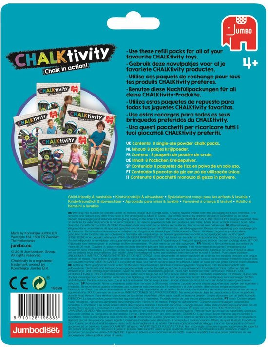 Chalktivity Refill Pack Navulset