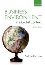 Boek cover Business Environment in a Global Context van Andrew Harrison