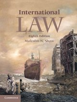 Boek cover International Law van Malcolm N. Shaw