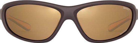 Sinner Shift SINTEC® Polarized - Sportbril - Unisex - Oranje - SINNER