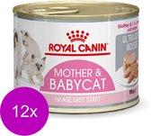 Royal Canin Wet Mother & Babycat Mousse - Kattenvoer - 195 gr
