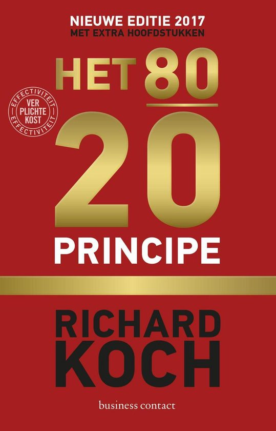 Het 80/20- principe - Richard Koch  