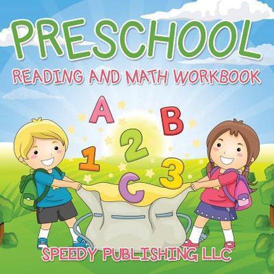 Boek cover Preschool Reading And Math Workbook van Speedy Publishing Llc (Paperback)