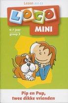 Loco mini Lezen, Pip en pup twee dikke vrienden 6-7 jaar