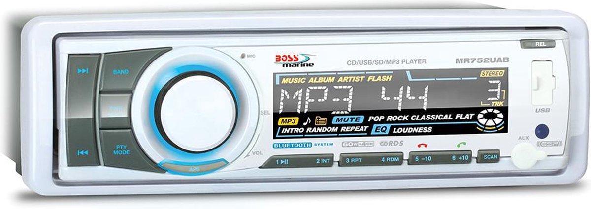 Boss Audio Systems witte Marine Radio 752UAB - Hugo Boss