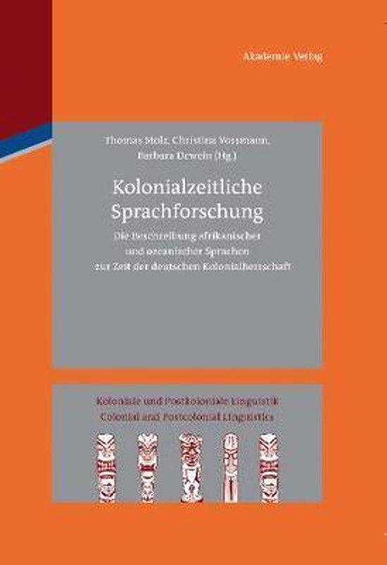 Kolonialzeitliche Sprachforschung
