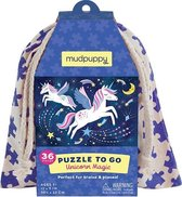 Mudpuppy Puzzle To Go/Unicorn Magic Eenhoorn reispuzzel