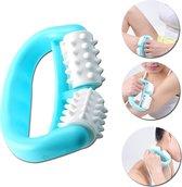 *NIEUWSTE* Lichaams massage roller | Nekroller | Nek | Lichaamsroller | Massage | Gezichtsroller | Anti cellulitis | Cellulite | Rug massage | Rugmassage | Dermaroller | Blauw