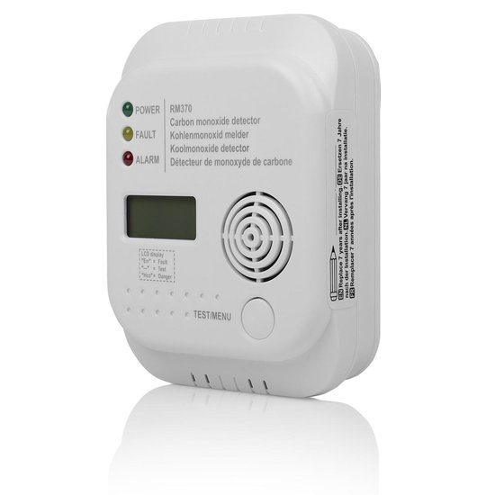 Smartwares RM370 Koolmonoxidemelder - 7 jarige sensor - Met display