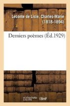 Derniers poemes