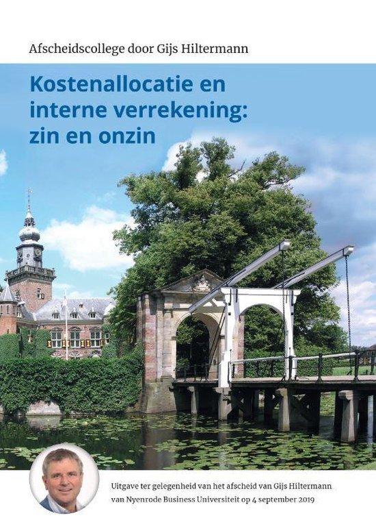 Kostenallocatie en interne verrekening: zin en onzin - Gijs Hiltermann pdf epub