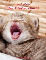 Livre de Coloriage Chats Et Chatons Mignons 1