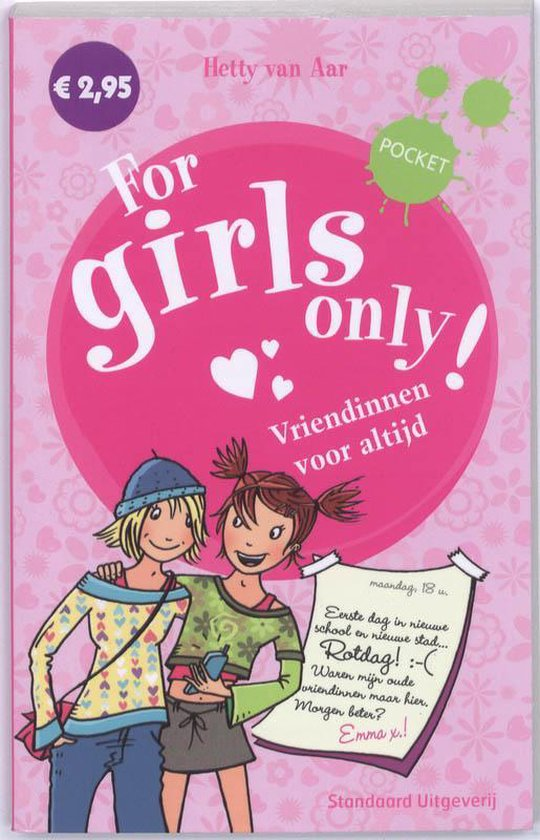 Boek cover For Girls Only van Hetty van Aar (Paperback)